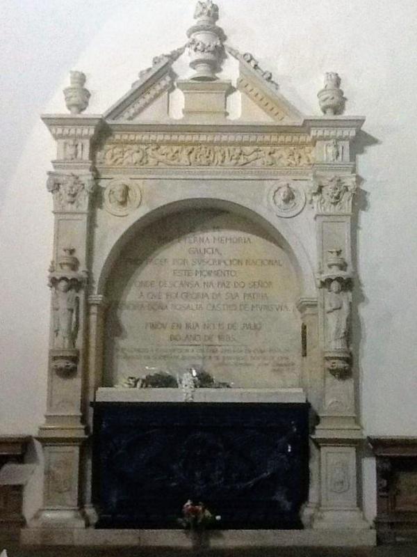 Tumba de Rosalía de Castro