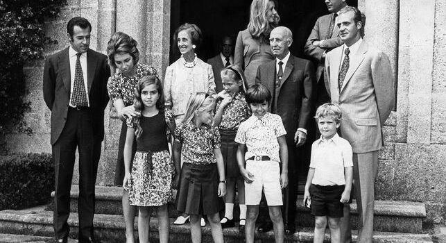 Familia Real e Familia Franco - EFE