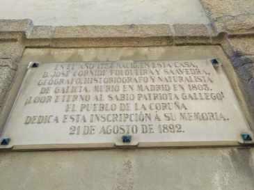 Placa Casa Cornide