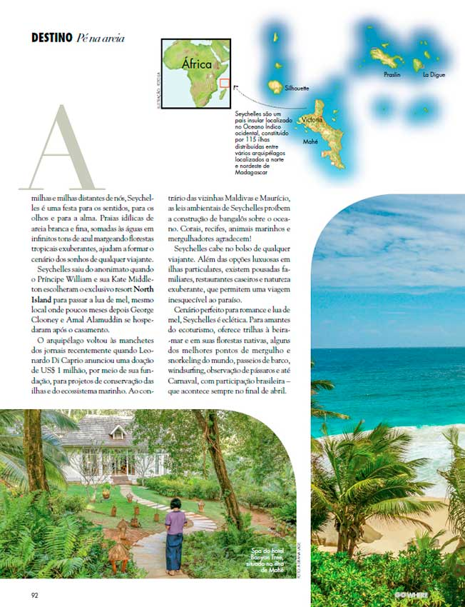 Go Where Luxo Seychelles, out 16
