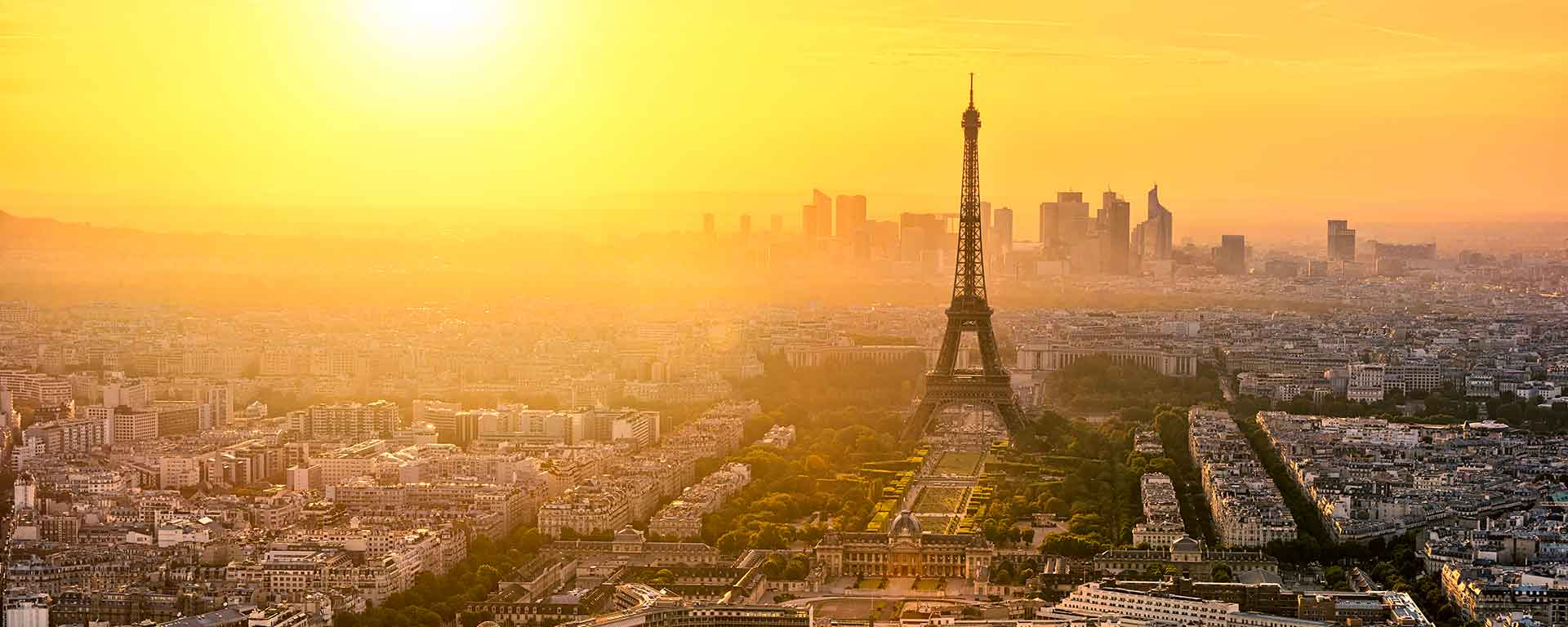 Paris vista do alto, foto shutterstock