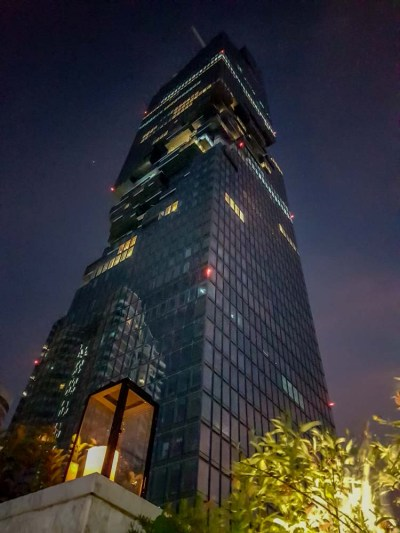 MahaNakhon visto do Vogue Lounge