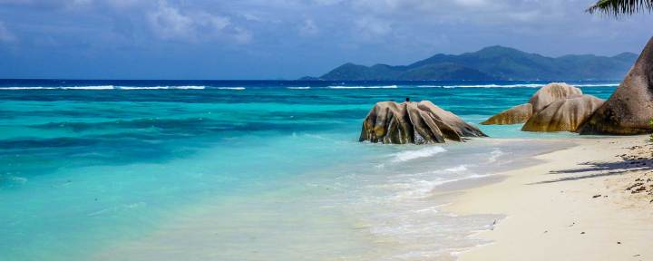 Anse Source d'Argent, Seychelles, praia entre as mais bonitas do mundo.