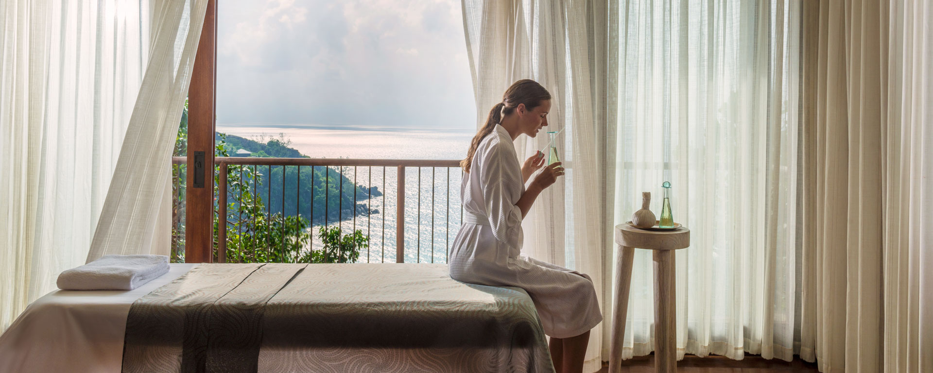 Spa do Four Seasons Seychelles. Foto: Four Seasons