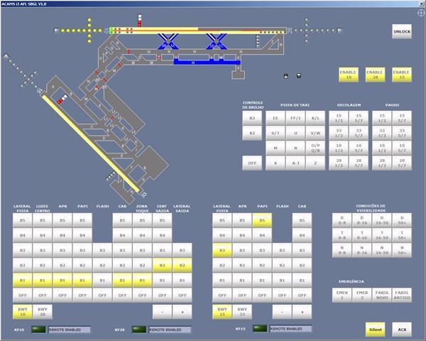 acams airfield lighting control