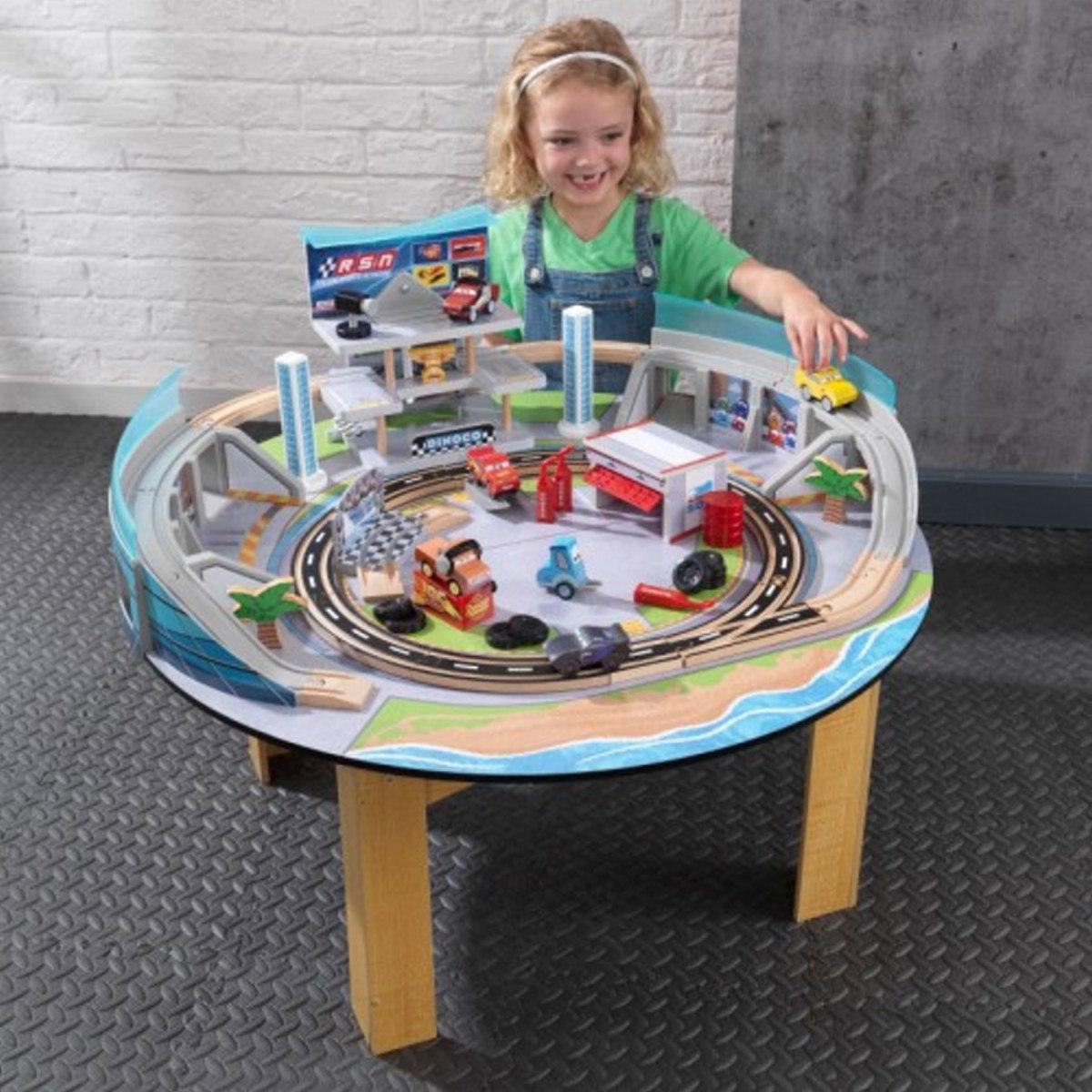 kidkraft cars 3 disney pixar table et circuit florida