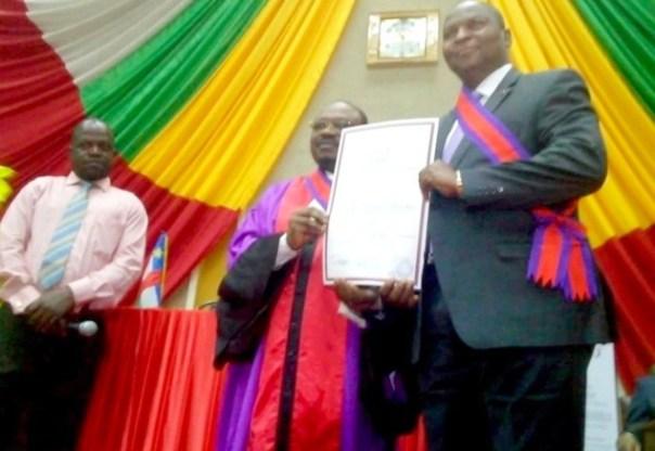 Le Président Touadéra élevé au grade de Grand-Croix dans l'OIPA-CAMES