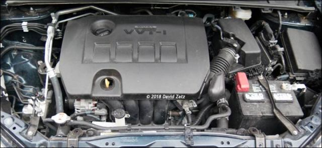 2018 corolla engine