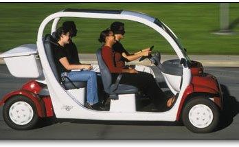 GEM electric car