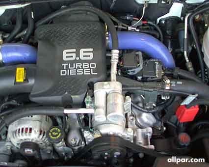 chevy silverado pickup truck duramax diesel engine