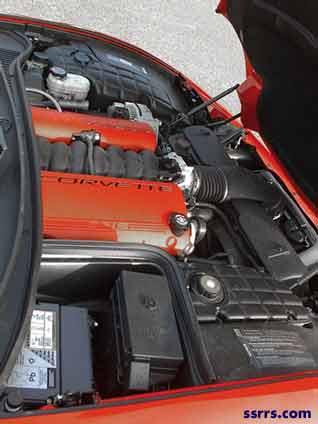 Chevy Corvette zo6 engine