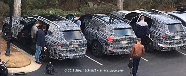 BMW X7 SUVs