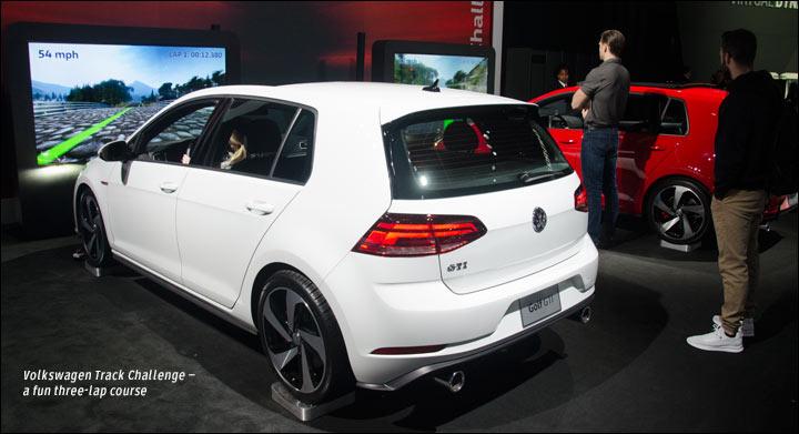 VW track challenge