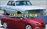 classic vs new cars
