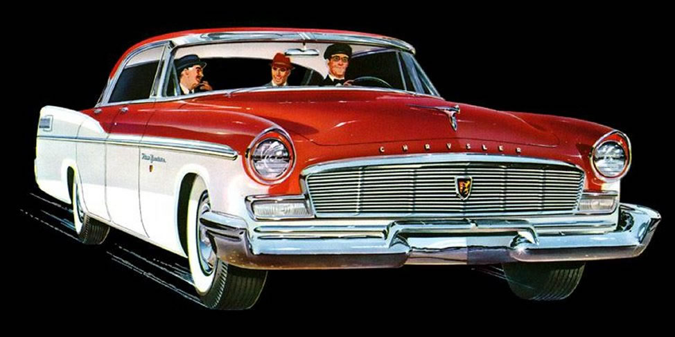 1956 Chrysler car