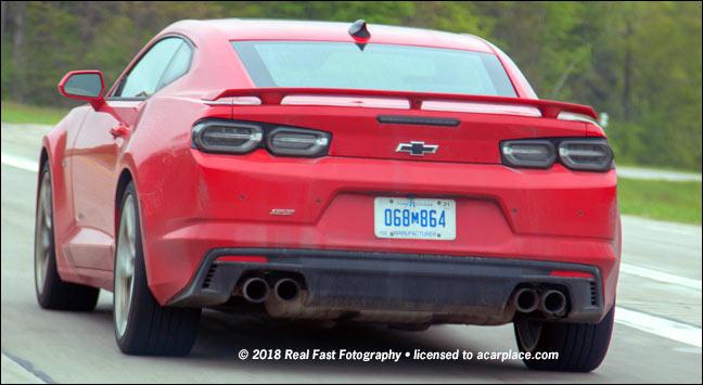 Chevrolet Camaro Ss Tail