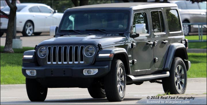 Europe's new Wrangler shows up in the USA