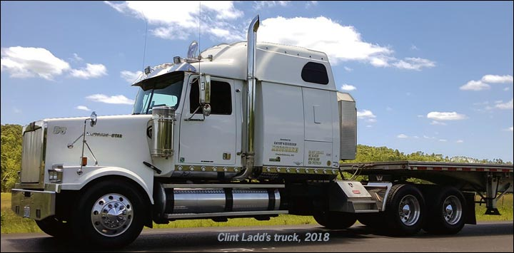 Clint Ladd's Western Star truck