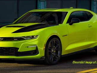 2019 Chevrolet Camaro SS Shock concept car