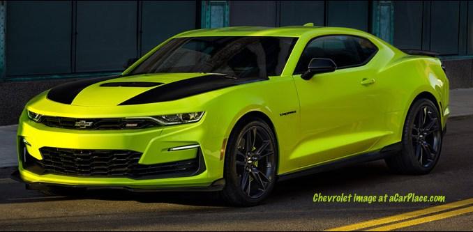 2019 Chevrolet Camaro SS Shock concept car