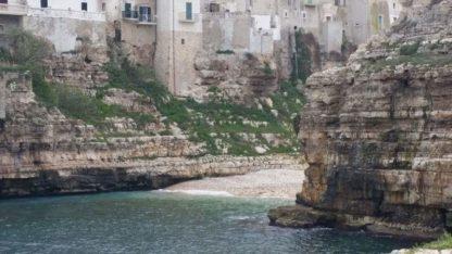 Scogliera Polignano a Mare
