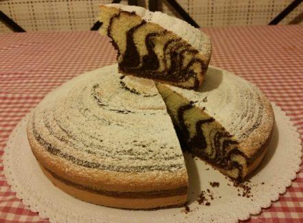 torta zebrata ricetta bimby