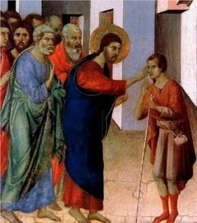 Jesus Healed a Man Born Blind - A Catholic Moment