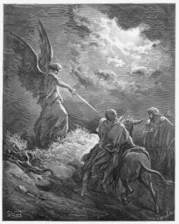 Balaam Meets an Angel