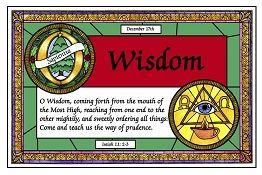 Dec 17 Wisdom