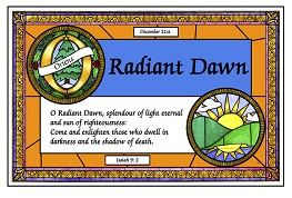 Dec 21 Radiant Dawn