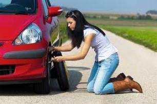 Fix Flat tire
