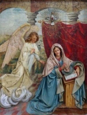 Mary & the Angel Gabriel