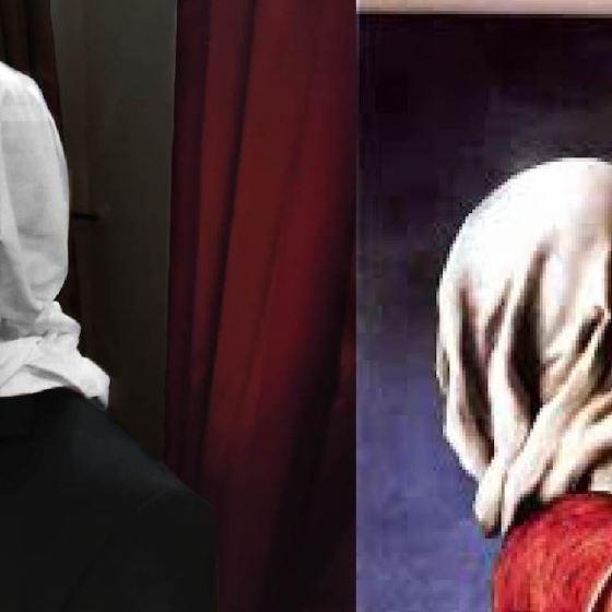 Giulia Battista- Gli amanti-Magritte