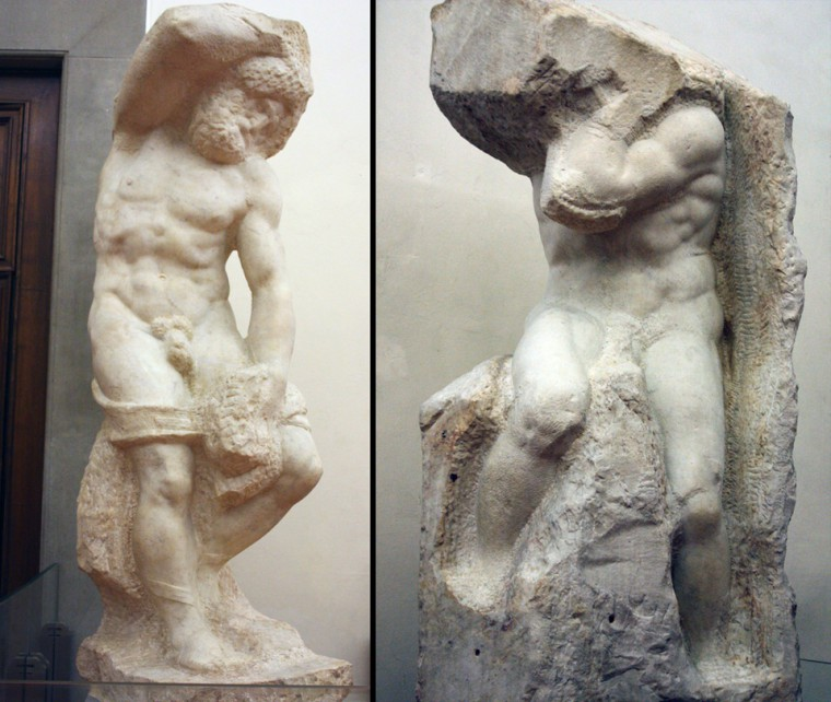 Obras de Michelangelo na Itália