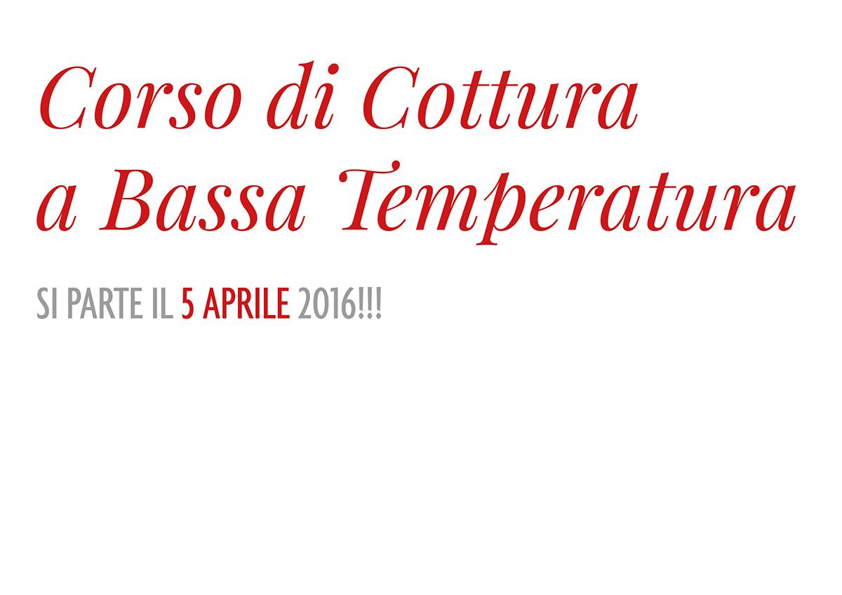 Corso di Cottura a Bassa Temperatura