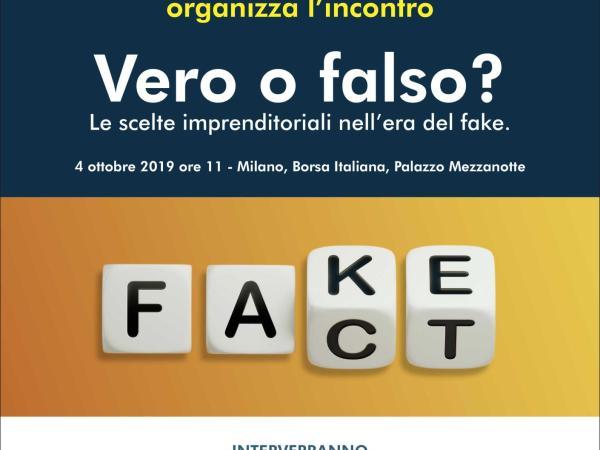 Fake news e imprese: il nostro intervento in Borsa