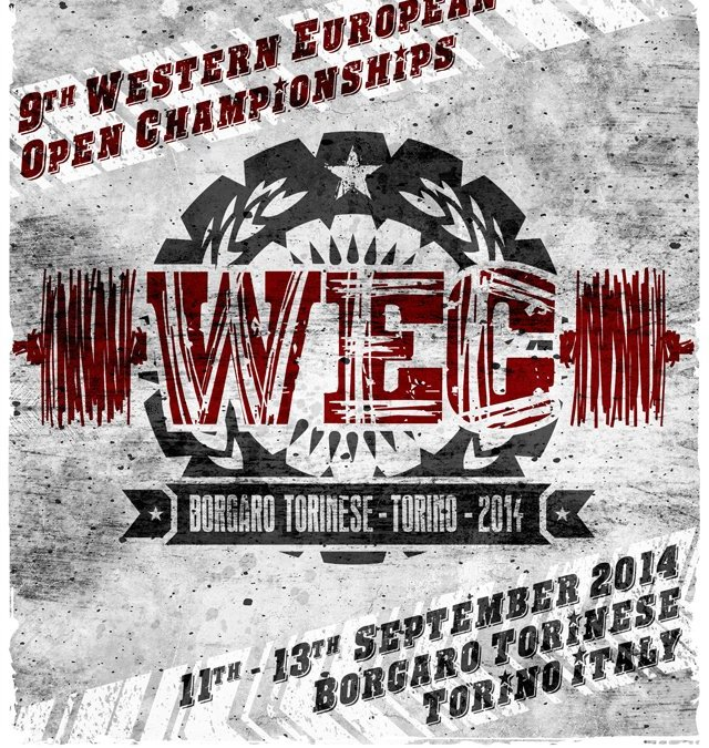 WESTERN EUROPEAN OPEN CHAMPIONSHIPS 2014