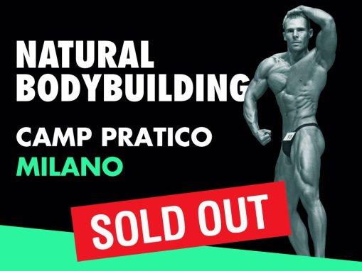 NATURAL BODYBUILDING – CAMP PRATICO MILANO