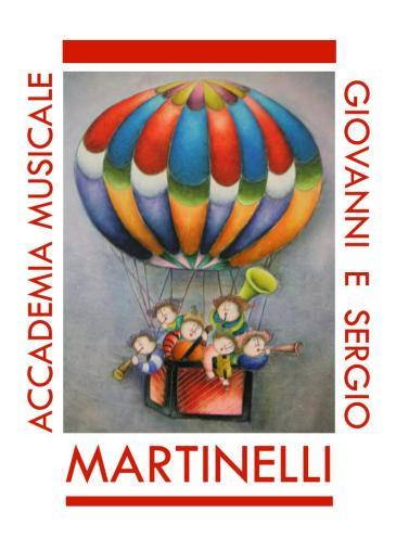 """Logo Accademia Musicale """"G. e S. Martinelli"""""""