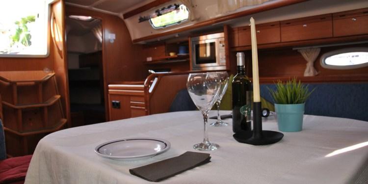 Cena a bordo per due