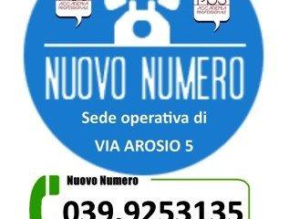 ATTIVAZIONE NUMERO TELEFONICO DI VIA AROSIO 5 – 039 9253135