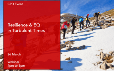 Resilience & EQ in Turbulent Times26th March 2020