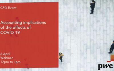 Accounting implications of COVID -19 with PWC6th April