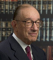 Alan Greenspan Gave A Keynote Speech At The HIMSS Conference