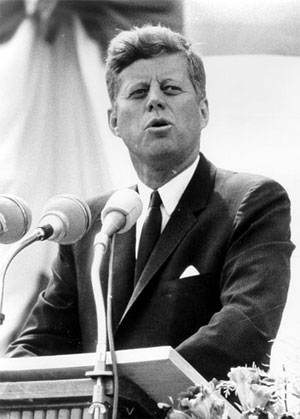John F. Kennedy was truly a great speaker
