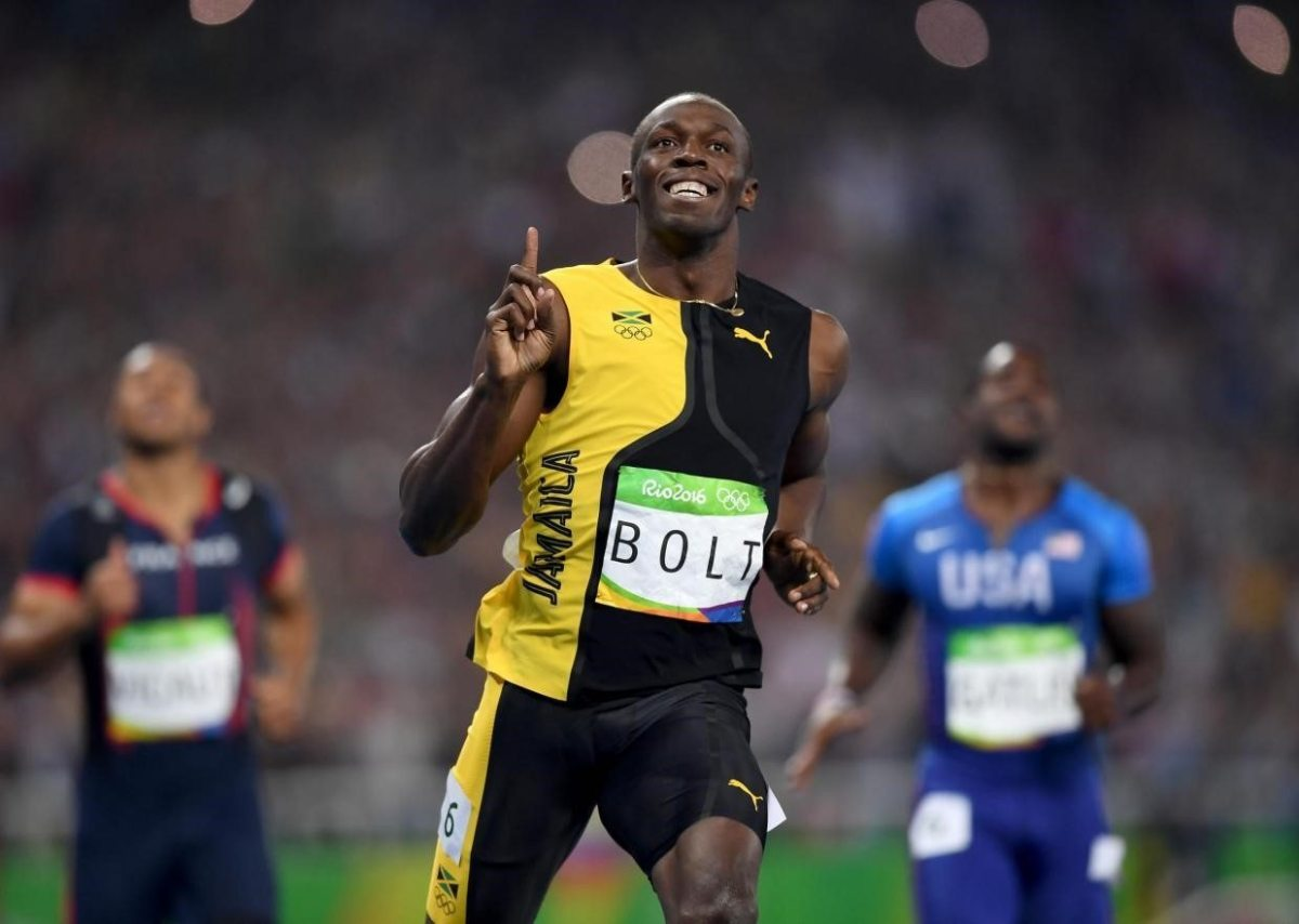usain bolt sports corner accelerate