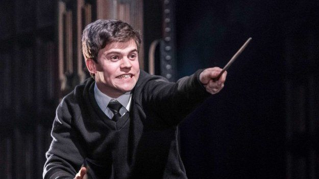 character doing magic in cursed child play