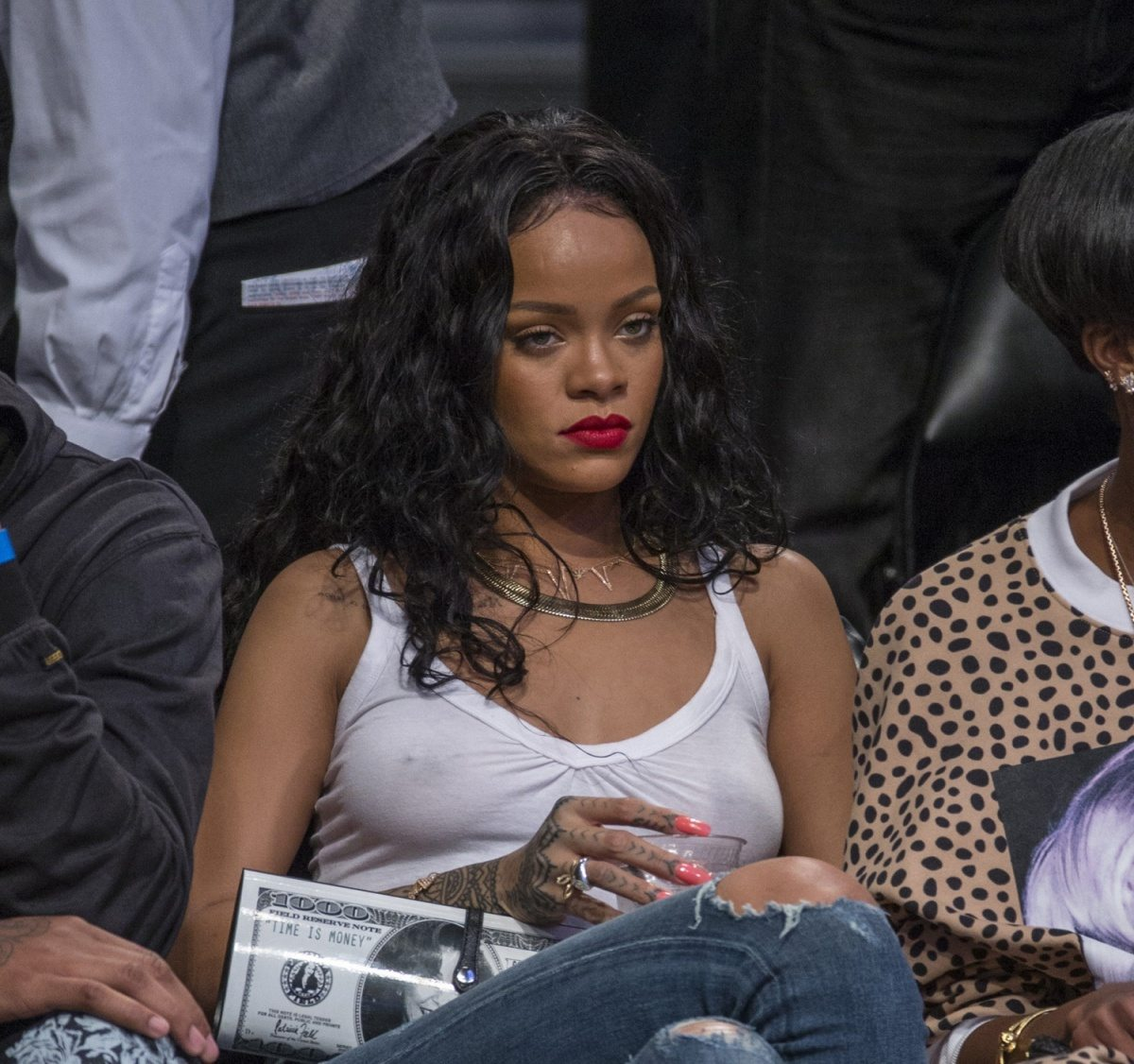 rihanna resting bitch face