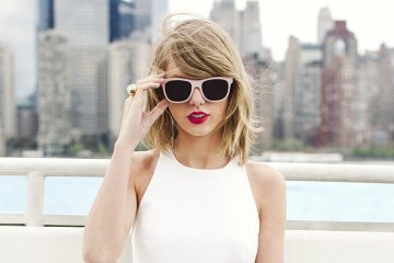 taylor swift in sunglasses