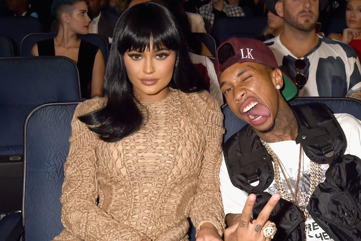 kylie jenner and tyga at the vma